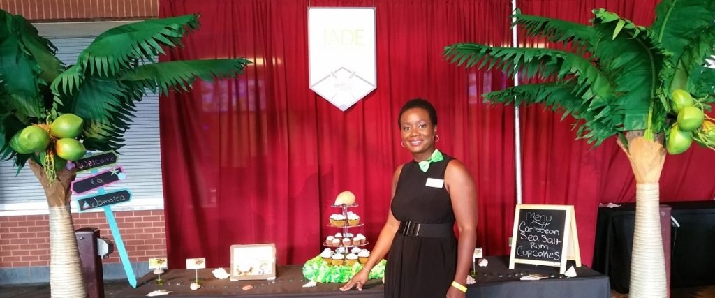 Chef Janet at the 2016 DNC Media Party - Citizens Bank Park, Philadelphia